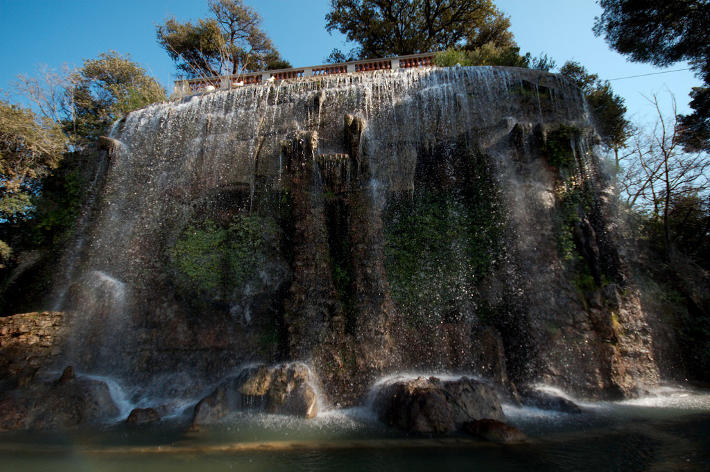 Waterfall,Colline du Chateau,Nice by Dale Harvey, on Flickr