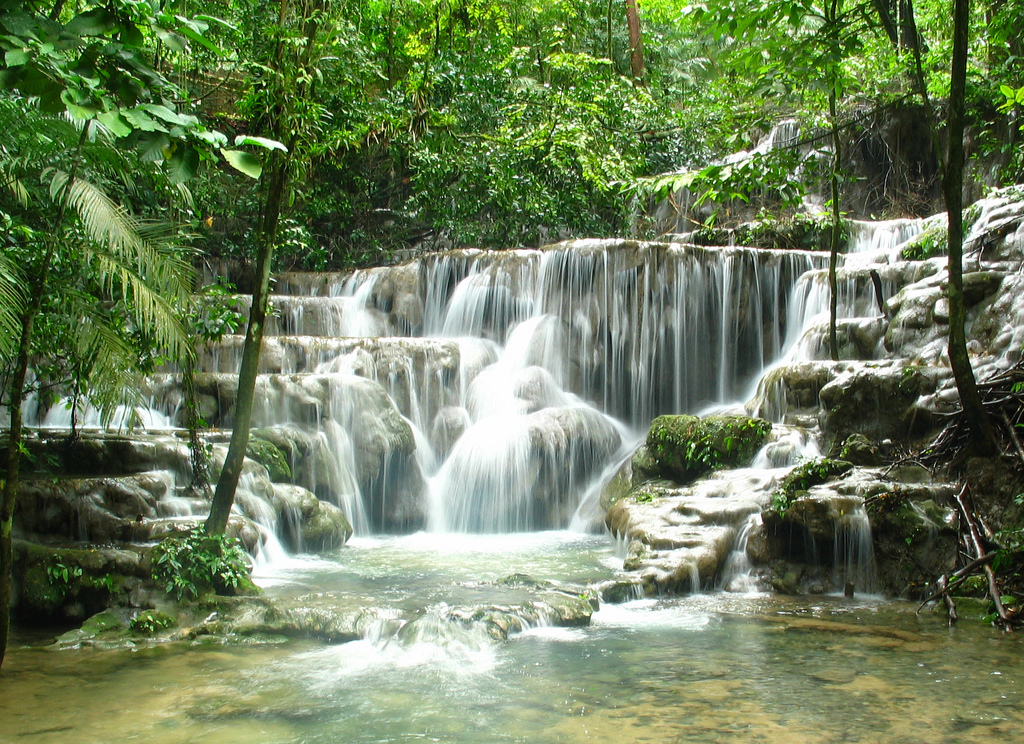 Waterfall Palenque Mexico one of my favo by zoutedrop, on Flickr