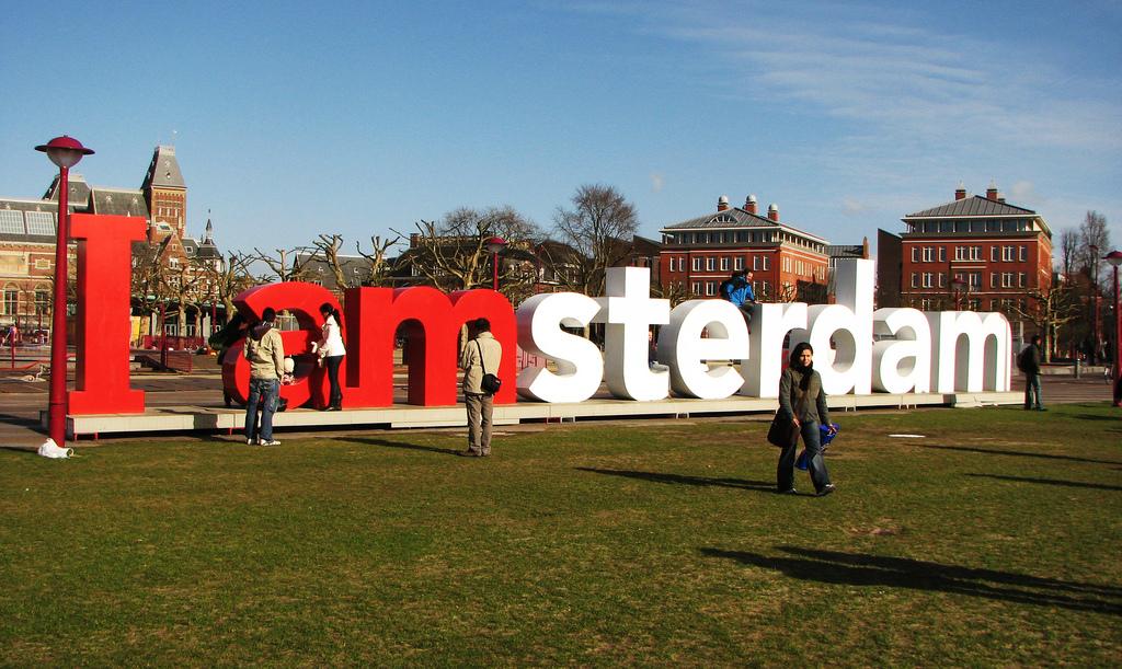 I amsterdam by Lauren Manning, on Flickr