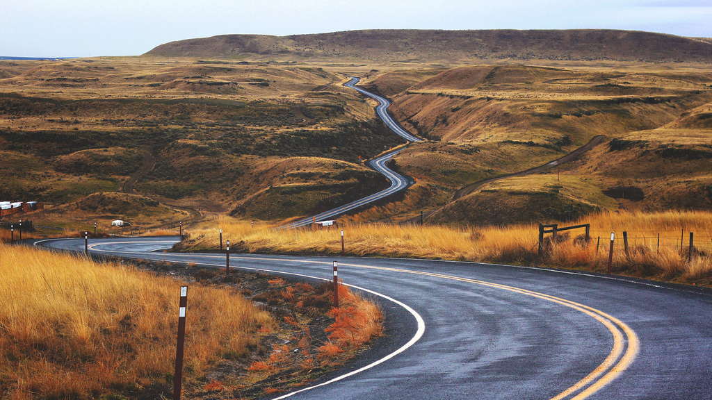 Curved Country Road by Image Catalog, on Flickr