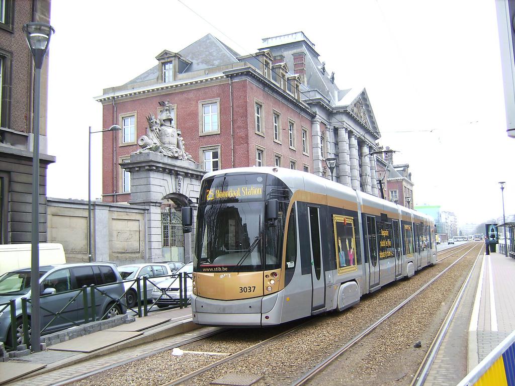 Modern tram in Brussels by vitalyzator, on Flickr