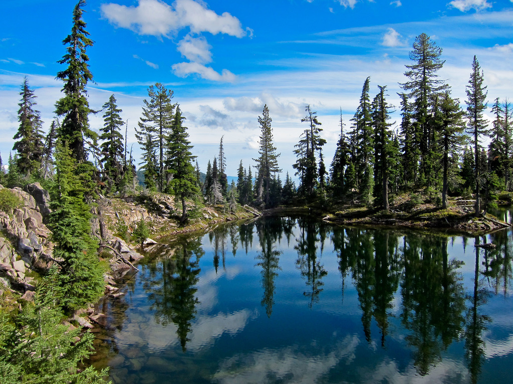 Holst Lake in Sky Lakes Wilderness, Rogu by Forest Service Pacific Northwest Region, on Flickr
