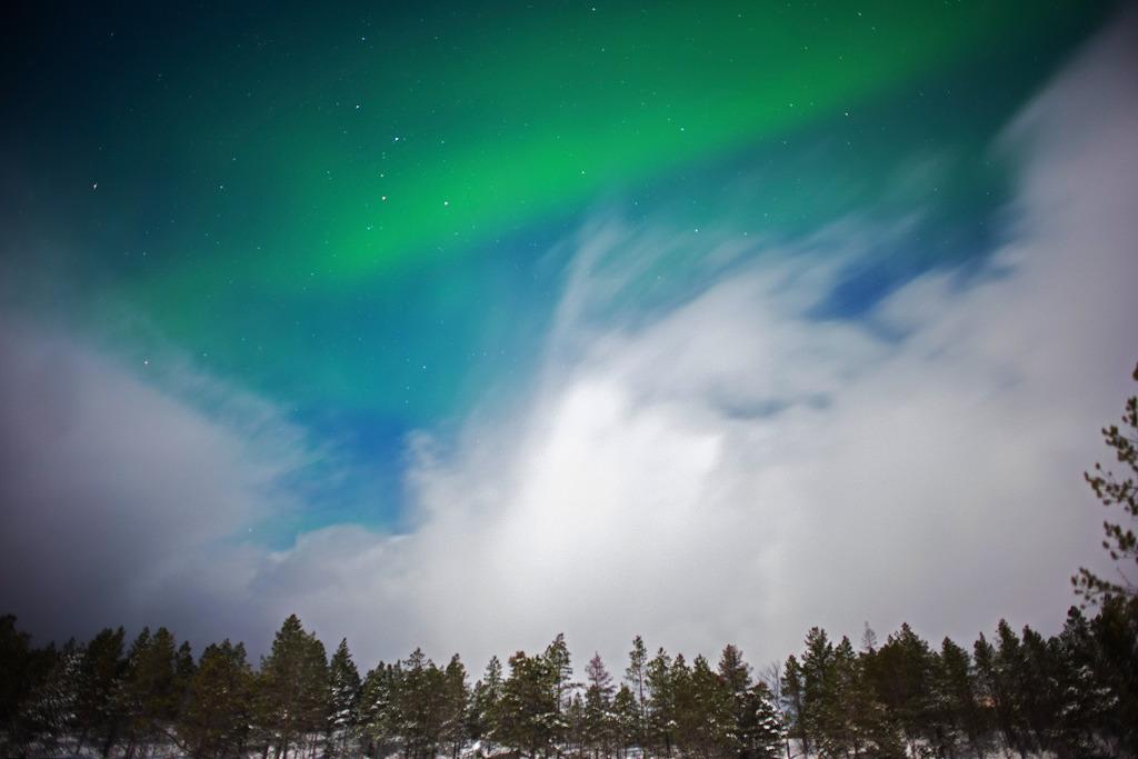Aurora borealis at Camp Nikka, Malangen, by Alfred Weidinger, on Flickr