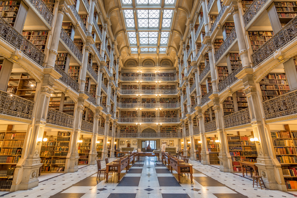 George Peabody Library by Patrick Gillespie, on Flickr