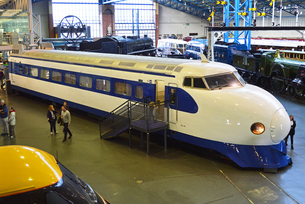 Shinkansen 'Bullet Train' Driving Ca by Hawkeye UK, on Flickr
