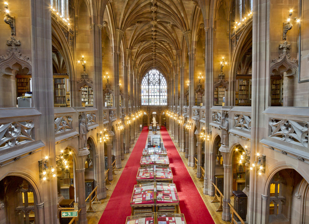 The John Rylands Library by michael_d_beckwith, on Flickr