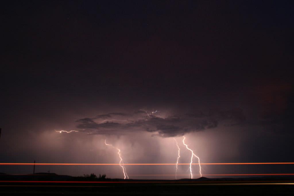 West Texas Lightning Storm by jeffk, on Flickr