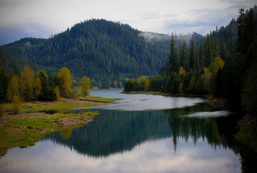 Blue River Reservoir, Willamette Nationa by Forest Service Pacific Northwest Region, on Flickr