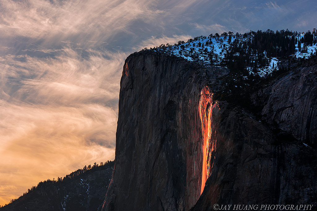 """Horsetail """"firefall"""" 2016 by Jaykhuang, on Flickr"""