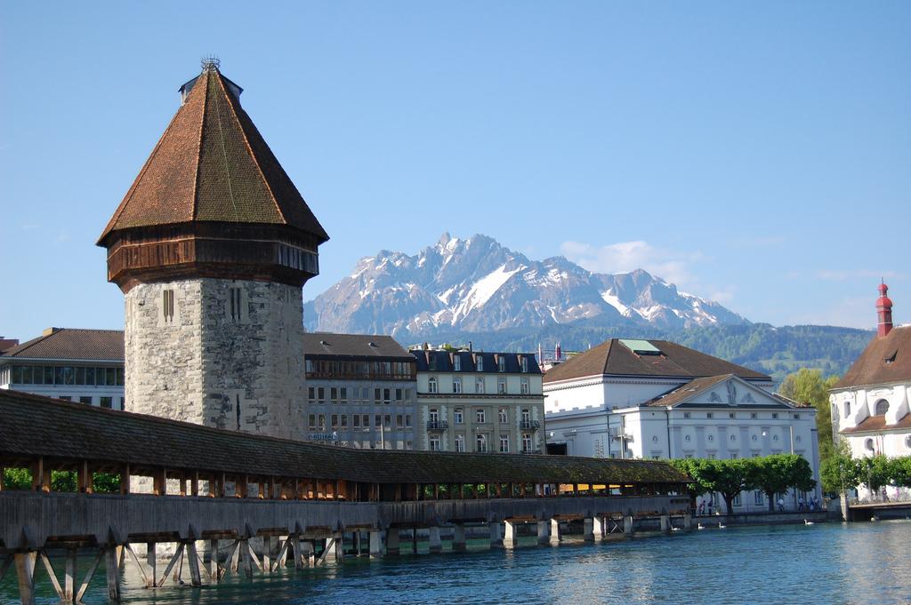 Kapellbrucke in Lucerne by edwin.11, on Flickr