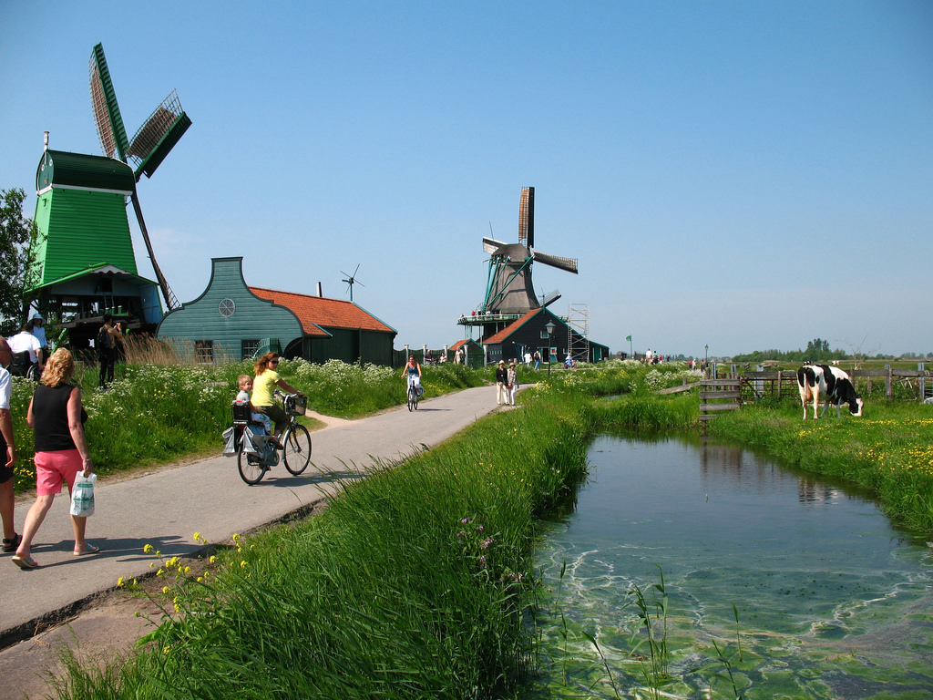 Zaanse Schans, living history museum in by Bogdan Migulski, on Flickr