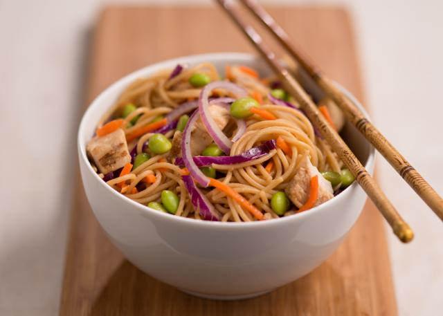 Sesame Asian Noodle Chicken Salad by USDAgov, on Flickr