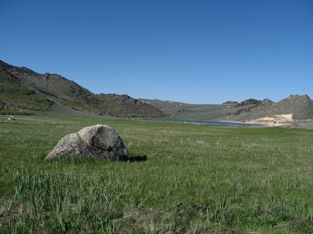 Onion Valley Reservoir, Pine Forest Rang by Ken Lund, on Flickr