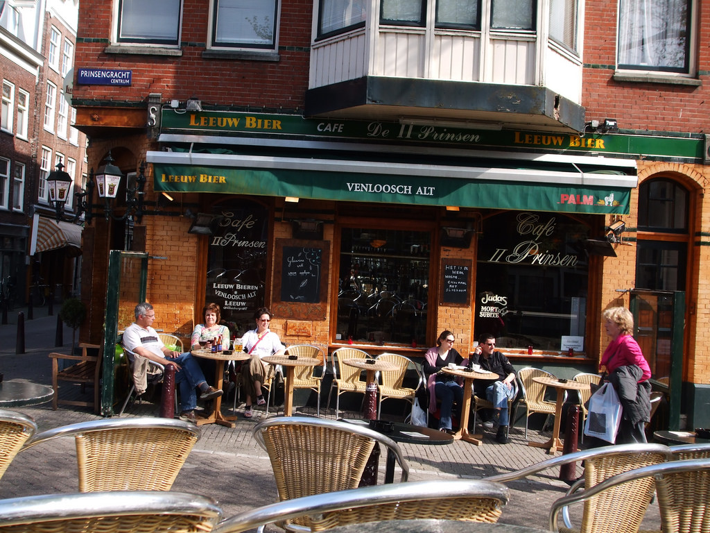 Amsterdam Cafe by Zach_Beauvais, on Flickr