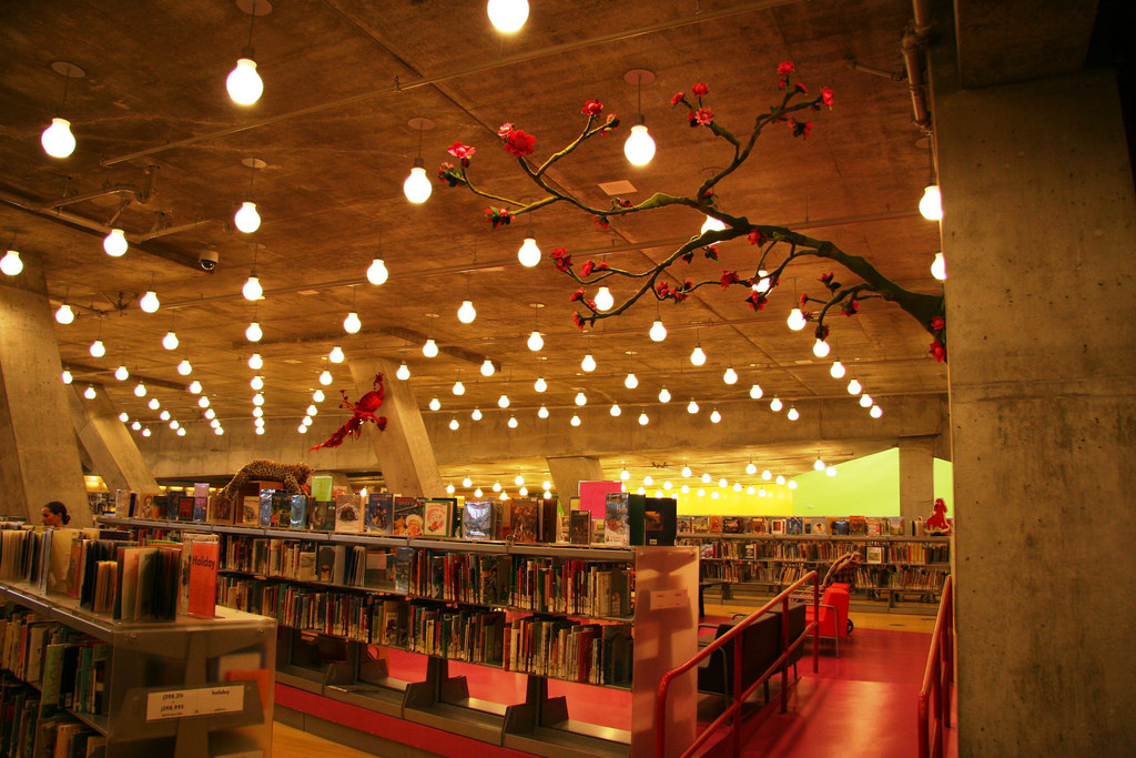 Childrens Library Seattle Central Librar by brewbooks, on Flickr