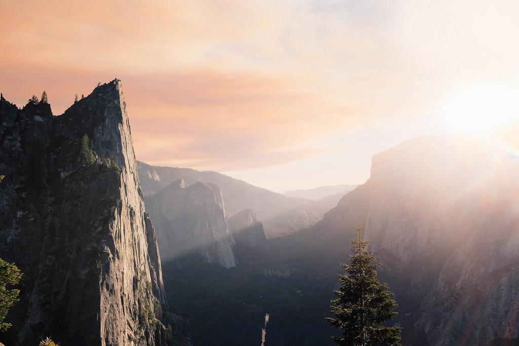 Mountain Sunset Sensation by Lenny K Photography, on Flickr