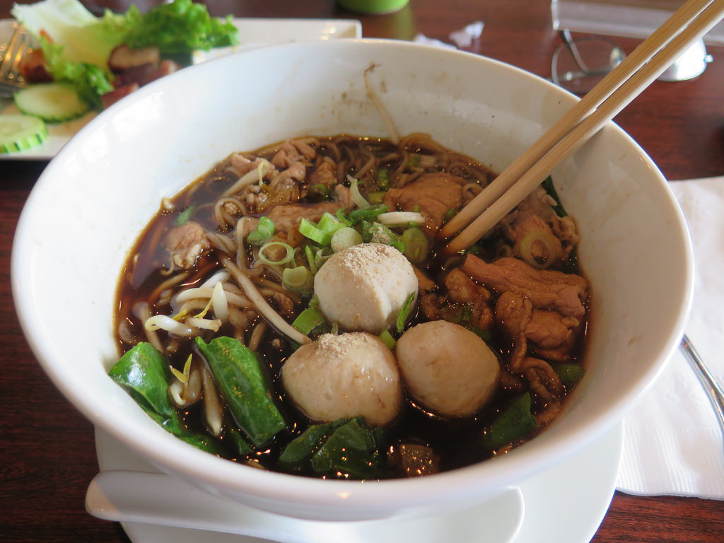 Pork Boat Noodles At  Pak Nam Thai Cuisi by Gary Soup, on Flickr