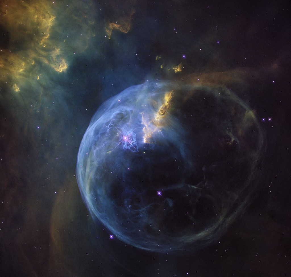 The Bubble Nebula by Hubble Space Telescope / ESA, on Flickr