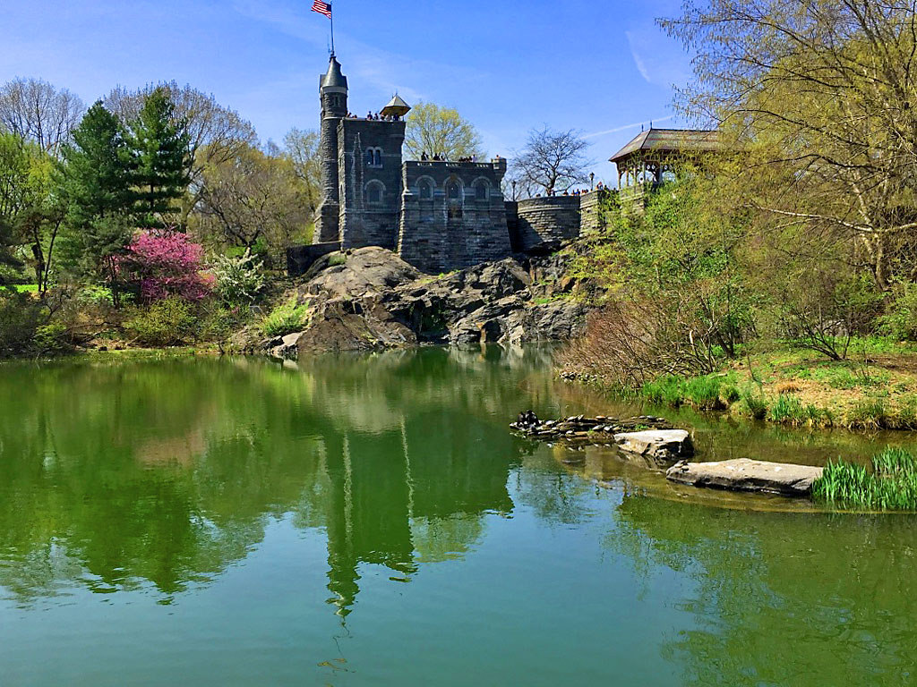 Belvedere Castle and the Turtle Pond -- by Ron Cogswell, on Flickr