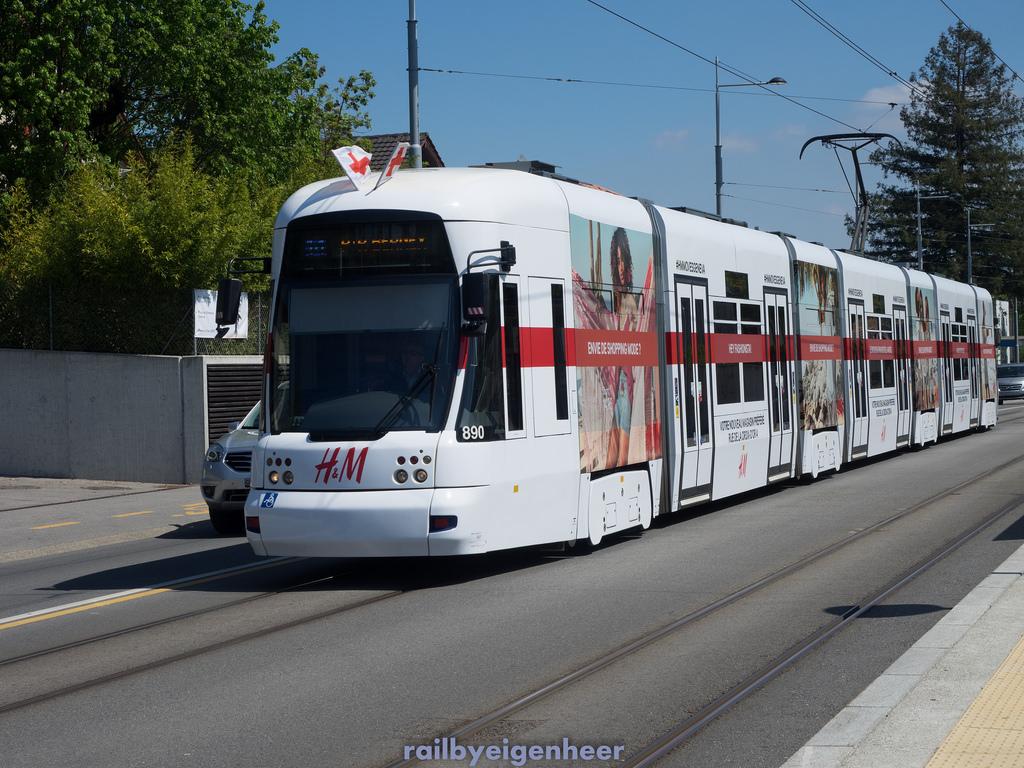 TPG Tram Bombardier Cityrunner Be 6/8 89 by flybyeigenheer, on Flickr