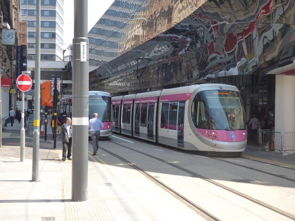 Midland Metro - Urbos 3 - tram 28 and by ell brown, on Flickr