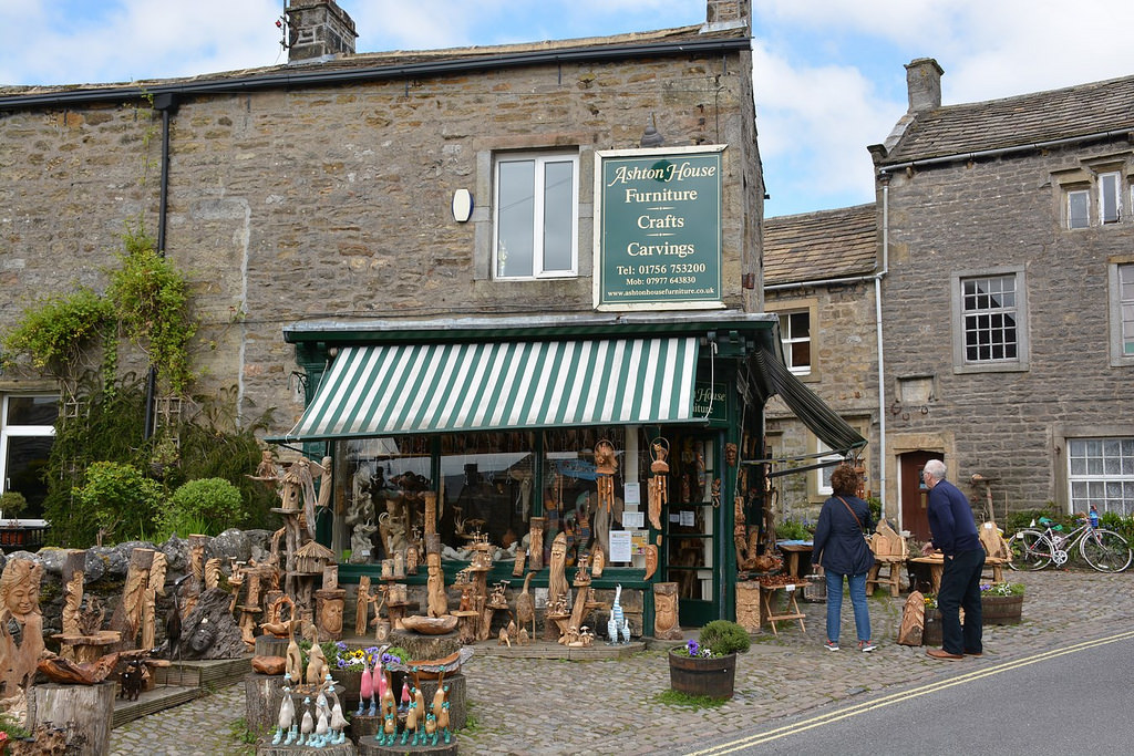 Shops in Grassington (Yorkshire, England by paularps, on Flickr