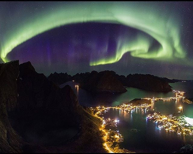 The Aurora Borealis or northern lights a by wildmanweber, on Flickr