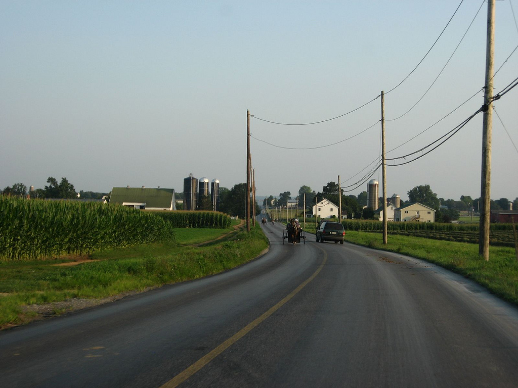 Hollander Road, Approaching Intercourse, by Ken Lund, on Flickr