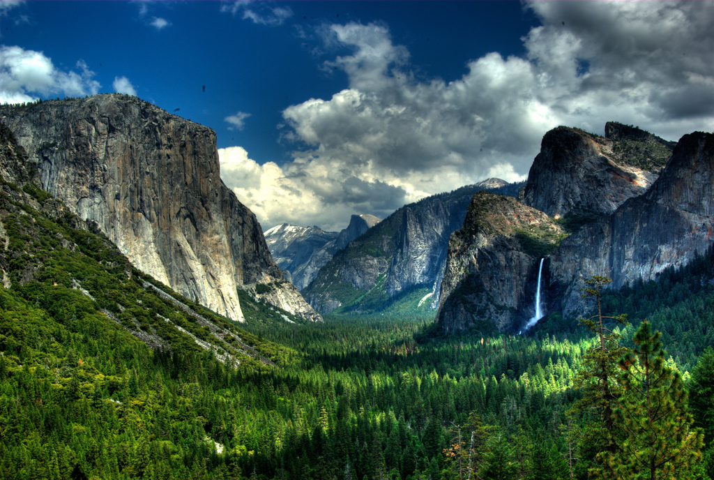 Yosemite Valley HDR - crop by footloosiety, on Flickr