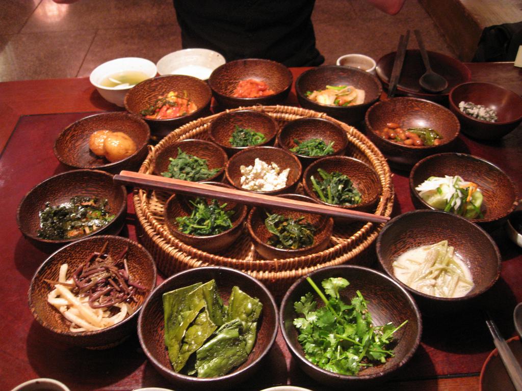 amazing vegetarian meal from Sanchon Tem by Julie Facine, on Flickr