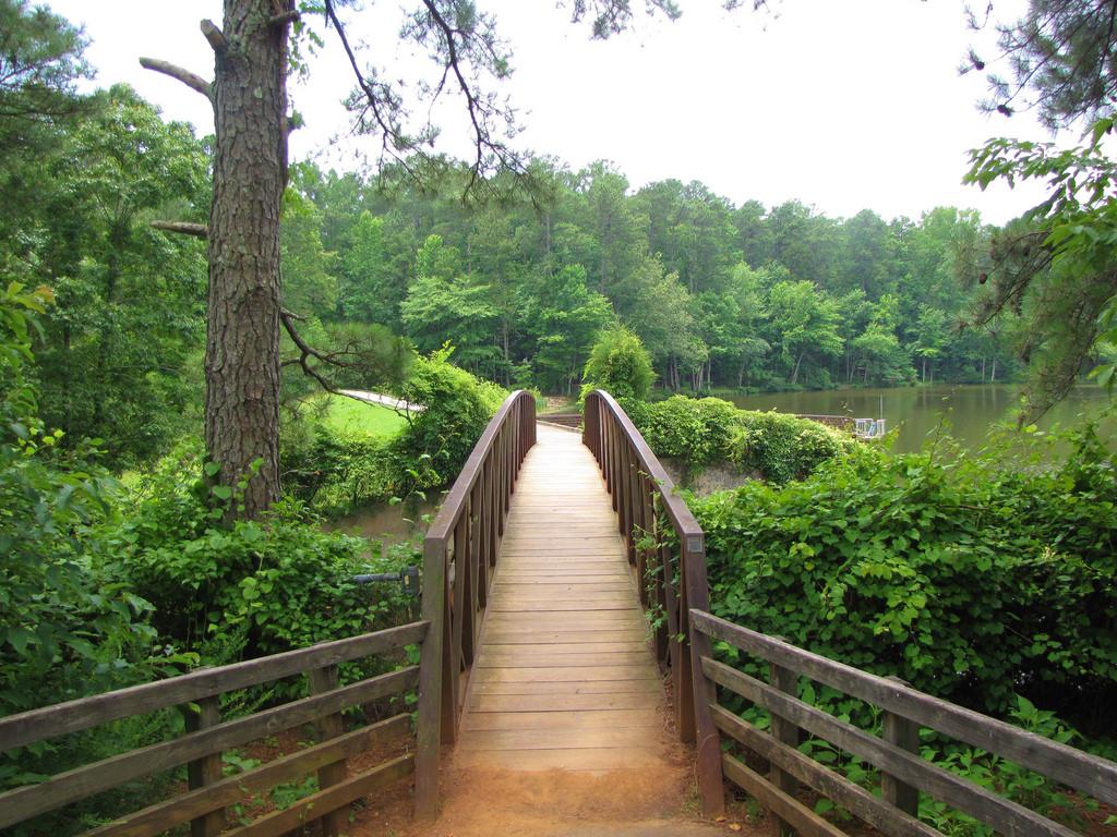 William B. Umstead State Park bridge by Gerry Dincher, on Flickr