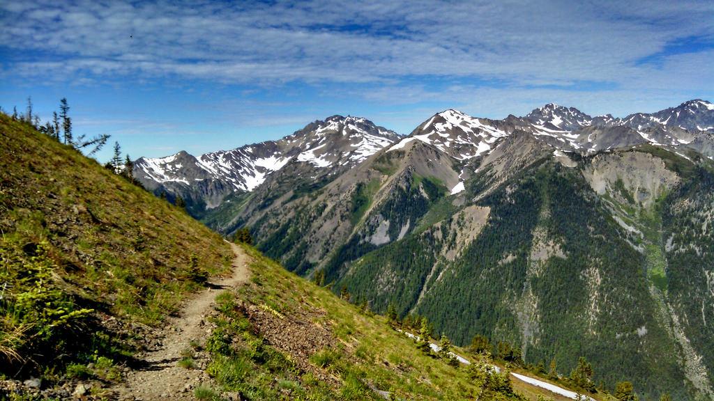 Pacific Northwest Trail in Buckhorn Wild by Forest Service Pacific Northwest Region, on Flickr