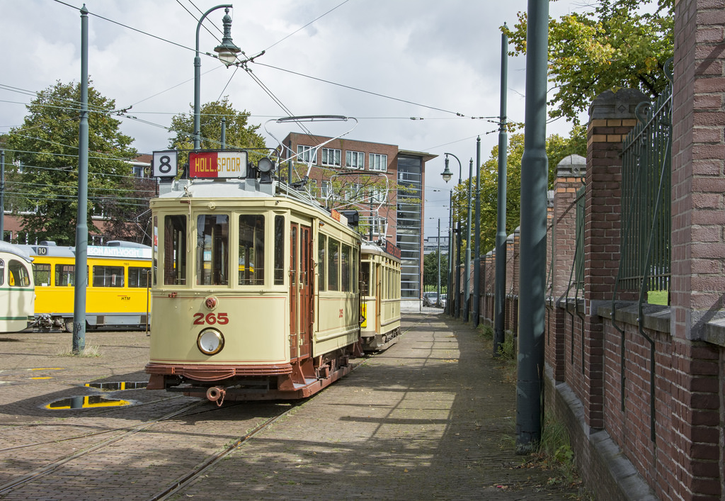 Den Haag HOVM tram 265-826 by Rob Dammers, on Flickr