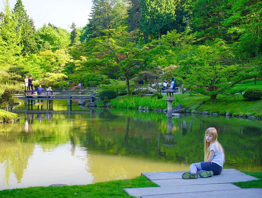Japanese Garden by Seattle Parks & Recreation, on Flickr