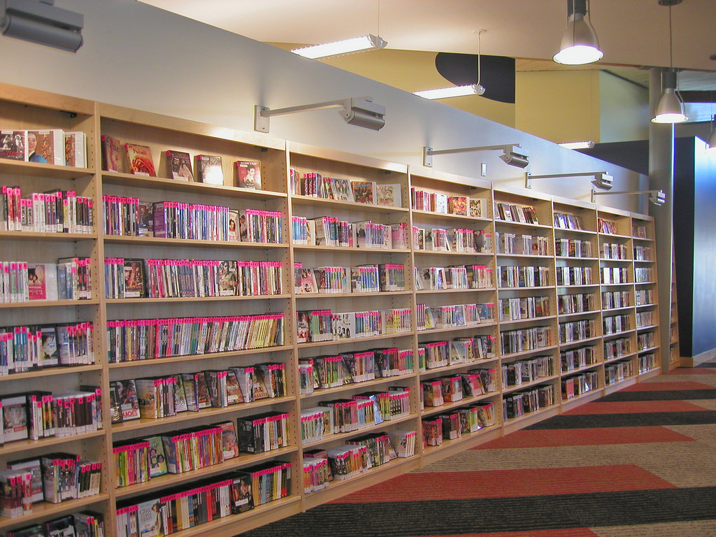 Marketplace - DVDs by San José Public Library, on Flickr