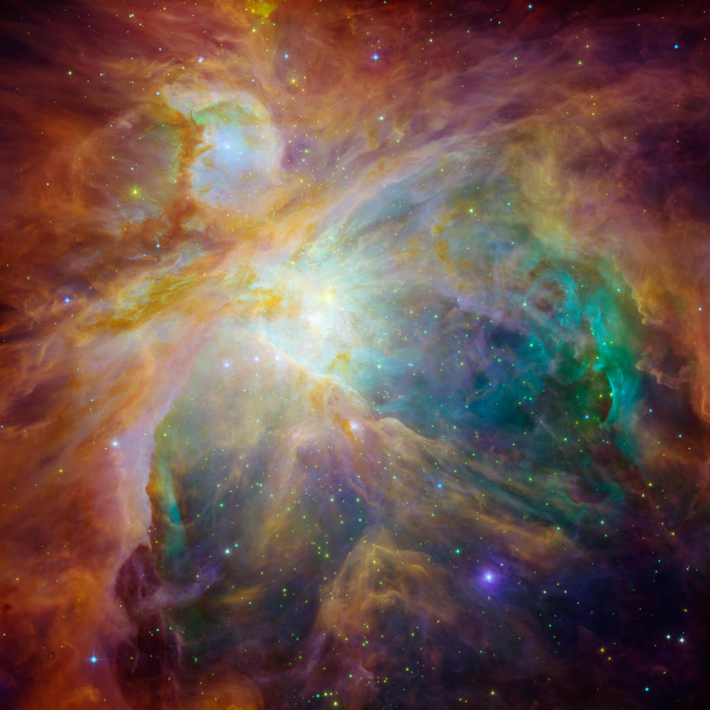 Orion Nebula - new image from Hubble & S by Mr. Physics, on Flickr