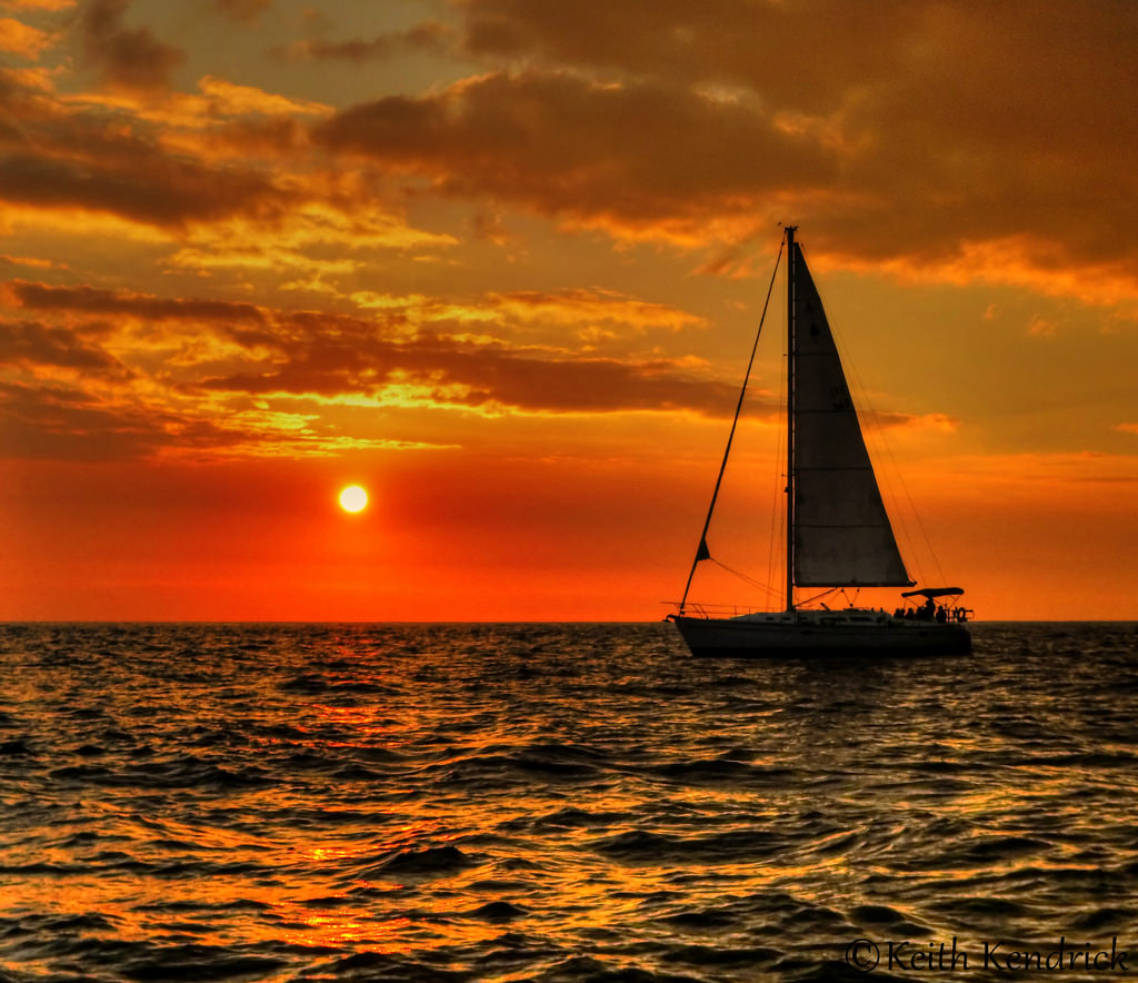 Kona Sunset by Keith L Kendrick, on Flickr