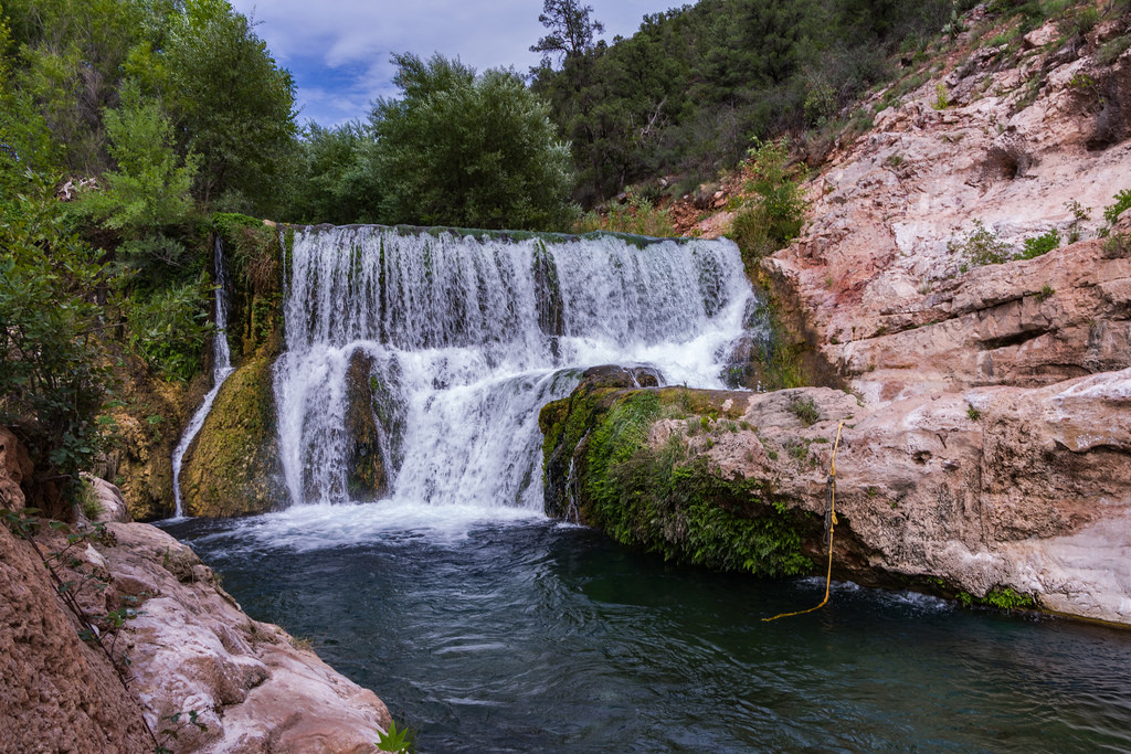 Old Fossil Creek Dam by Coconino National Forest, on Flickr