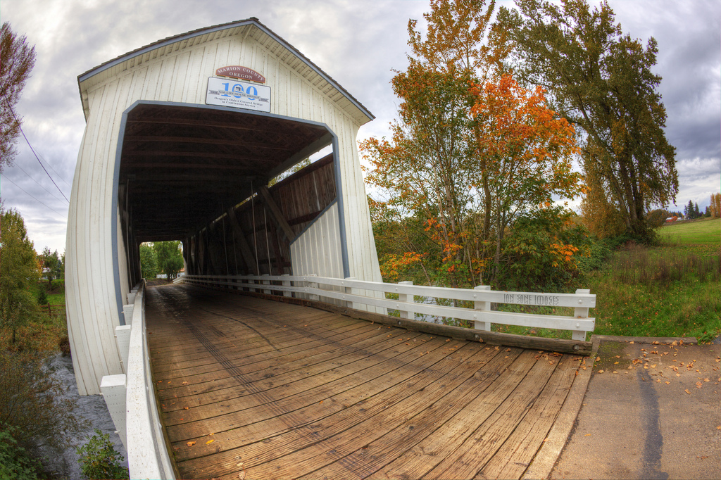 Gallon House Covered Bridge by Ian Sane, on Flickr