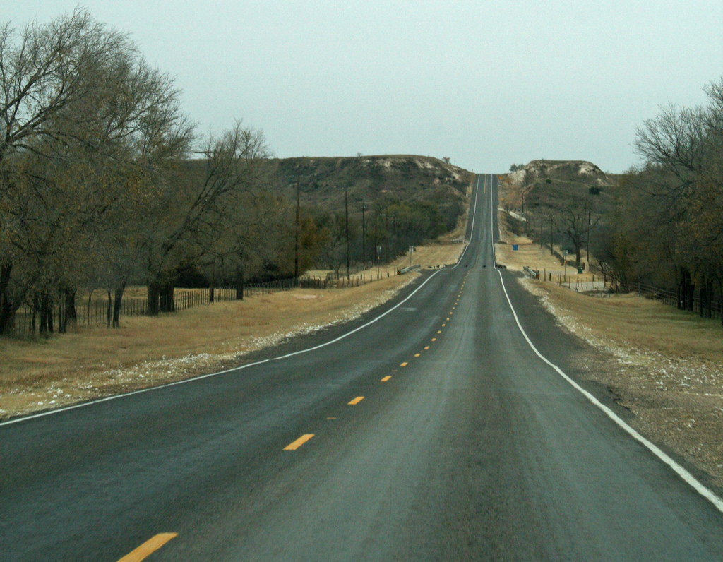West Texas Blacktop by Calsidyrose, on Flickr