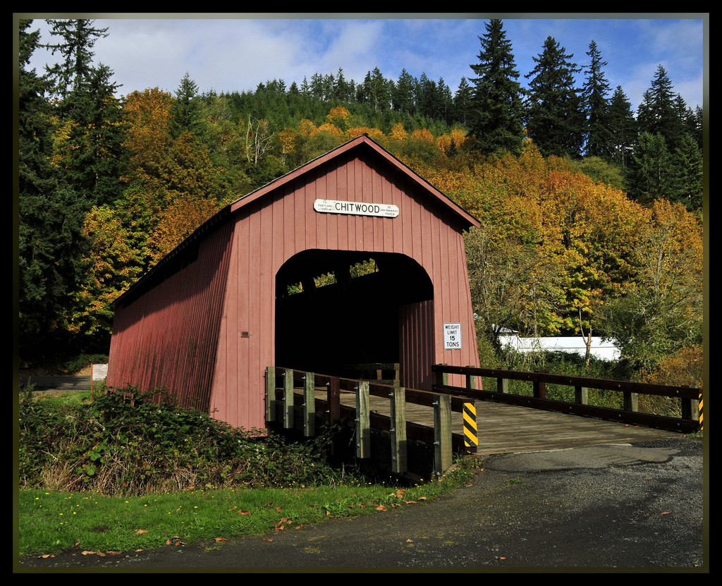 Chitwood Covered Bridge (#1 of 2 Set) by Tony Fischer Photography, on Flickr