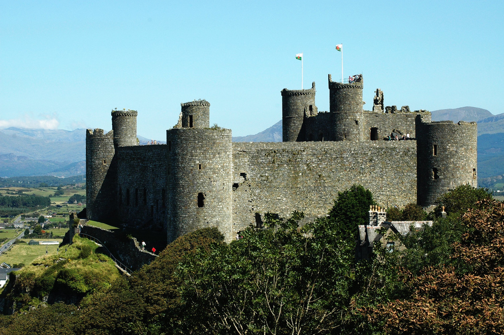 Harlech Castle, North Wales by A Roger Davies, on Flickr