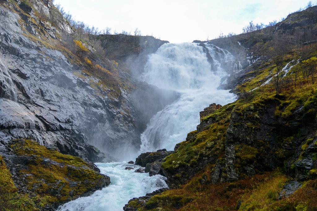 Kjosfossen waterfall by Jorge Lascar, on Flickr