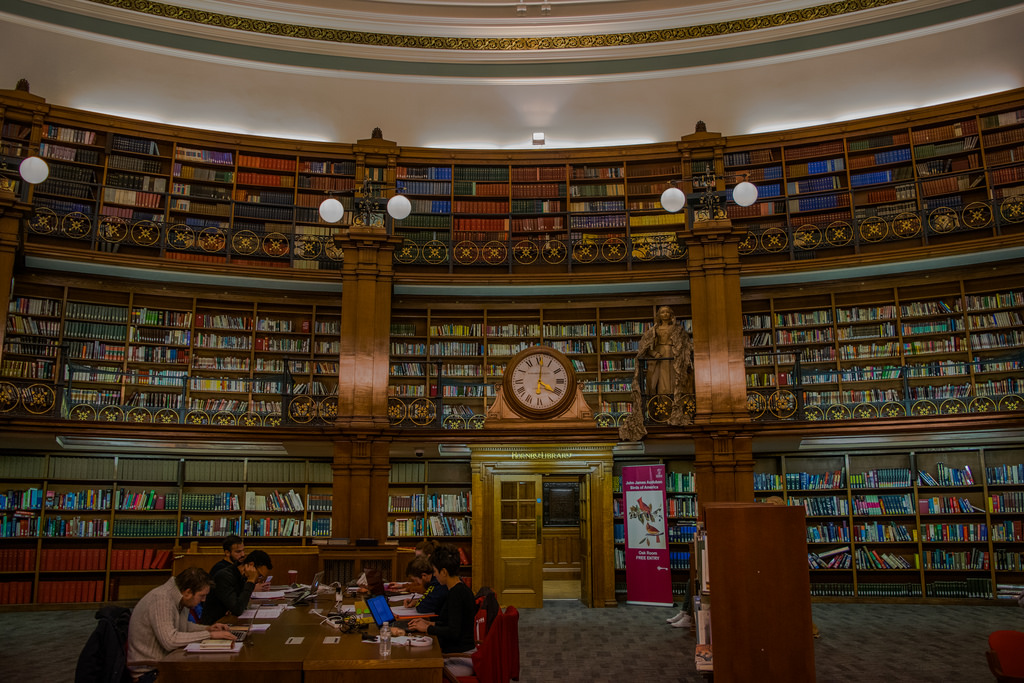 Picton Reading Room, Liverpool central L by kilgarron, on Flickr