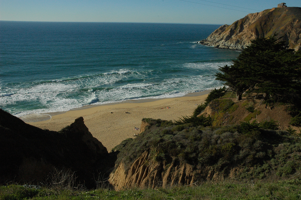 Pacific ocean beach, Gray Whale Cove, fr by Wonderlane, on Flickr