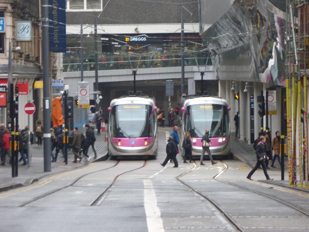 Midland Metro extension - Grand Central by ell brown, on Flickr