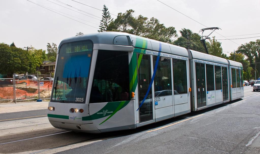 Yarra tram, Melbourne, Australia, Feb. 2 by PhillipC, on Flickr
