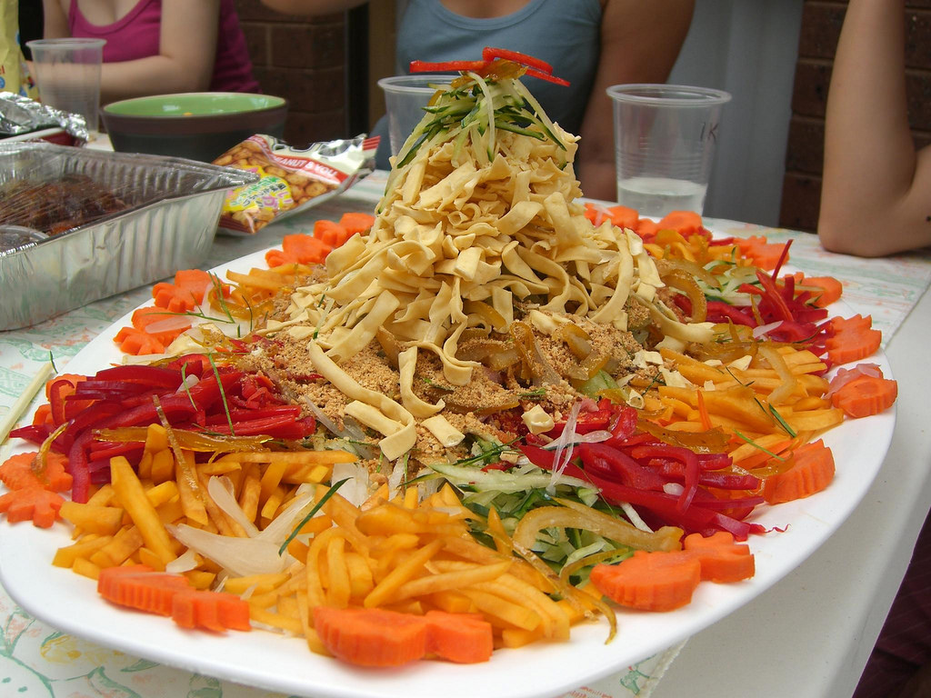 Julia and Alpha's CNY Yee Sang Prosperit by avlxyz, on Flickr
