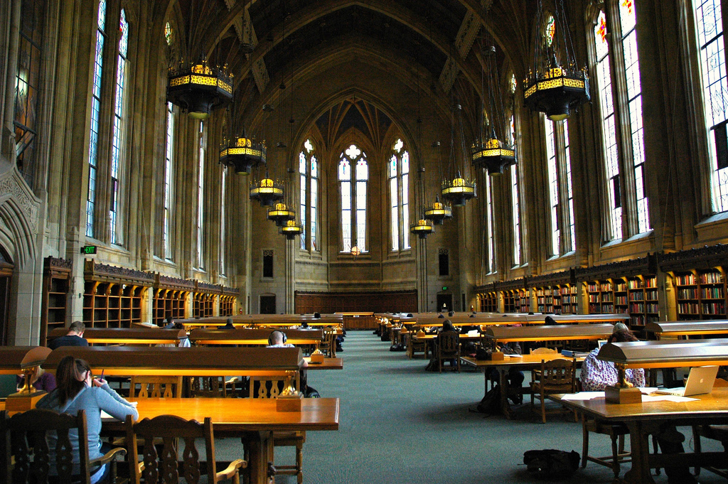 Suzzallo Library, one of the great libra by Wonderlane, on Flickr