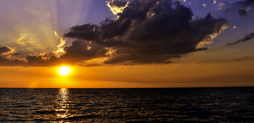 Rorschach Sunset by C. P. Ewing, on Flickr